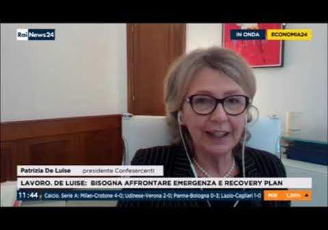 La presidente De Luise: Soldi e vaccino subito, poi il taglio delle tasse